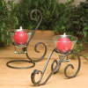 Danish Iron Candleholder