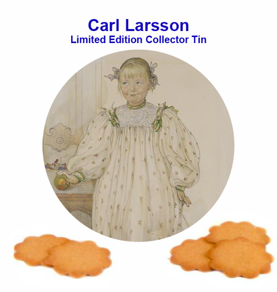2011 Carl Larsson Collector Tin from Sweden