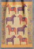 Dala Horse Cotton Throw