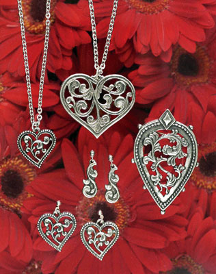 Pewter Heritage Jewelry from Norway