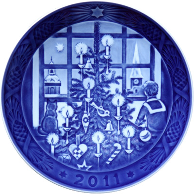 Royal Copenhagen 2011 Christmas Plate