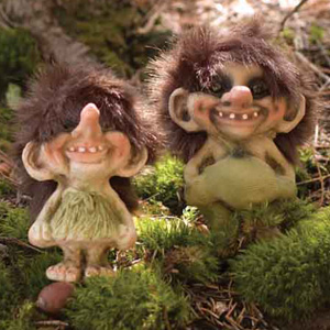 Nyform Trolls, Boy and Girl